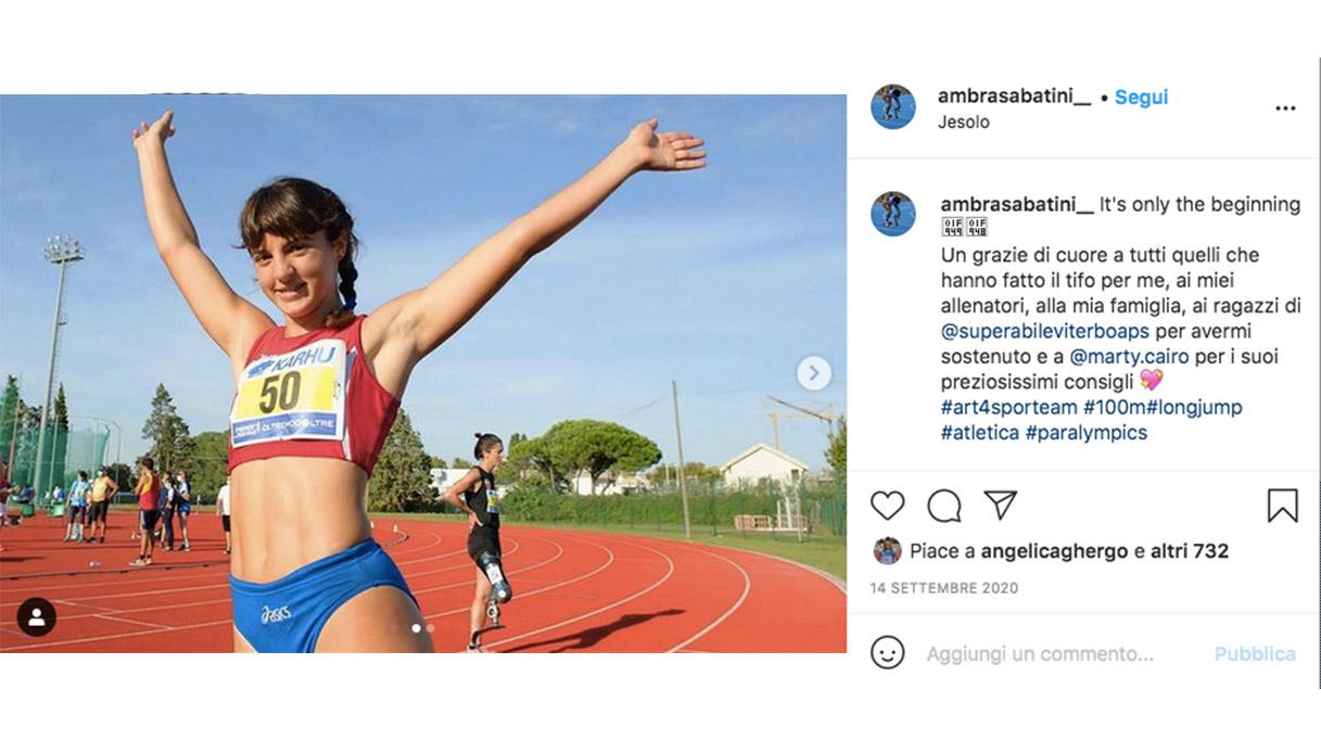 Ambra Sabatini Instagram