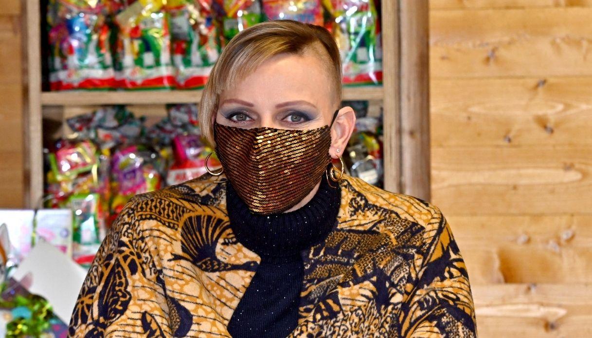 Charlene di Monaco, il caschetto punk   DiLei