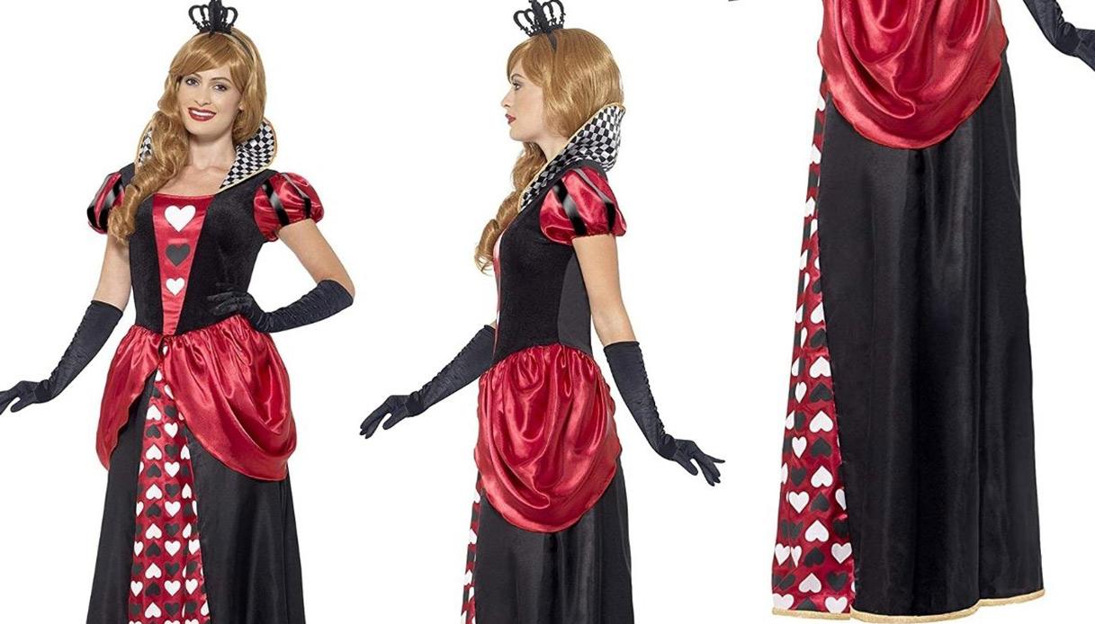 Costume di Carnevale Regina di cuori