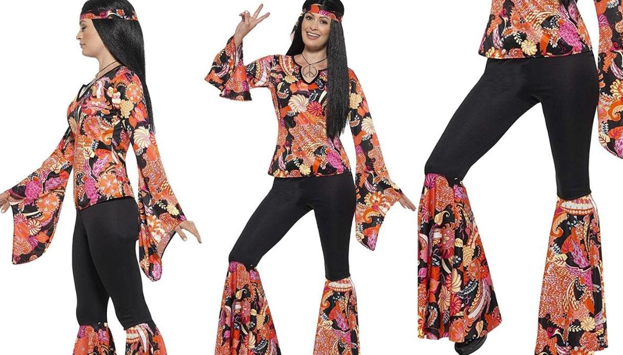 Costume di Carnevale hippie