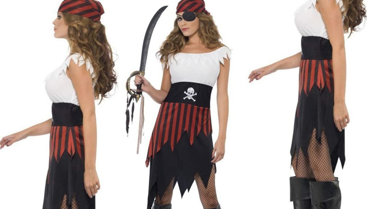 Costume di Carnevale pirata