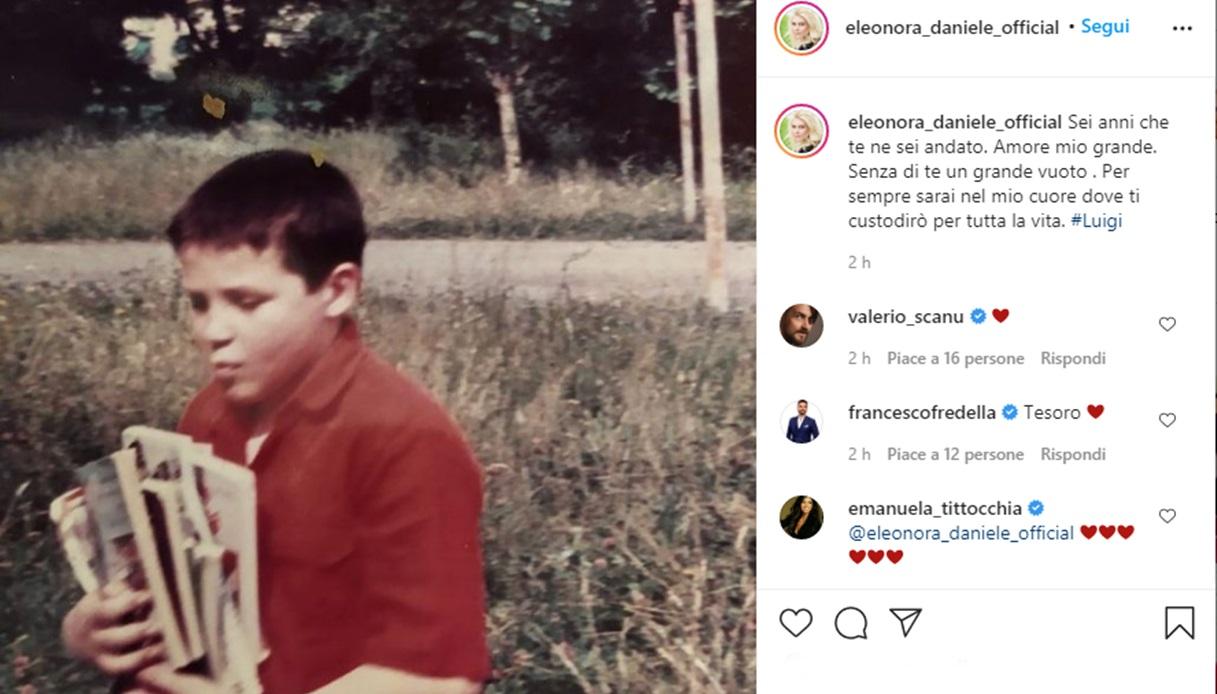 Eleonora Daniele su Instagram
