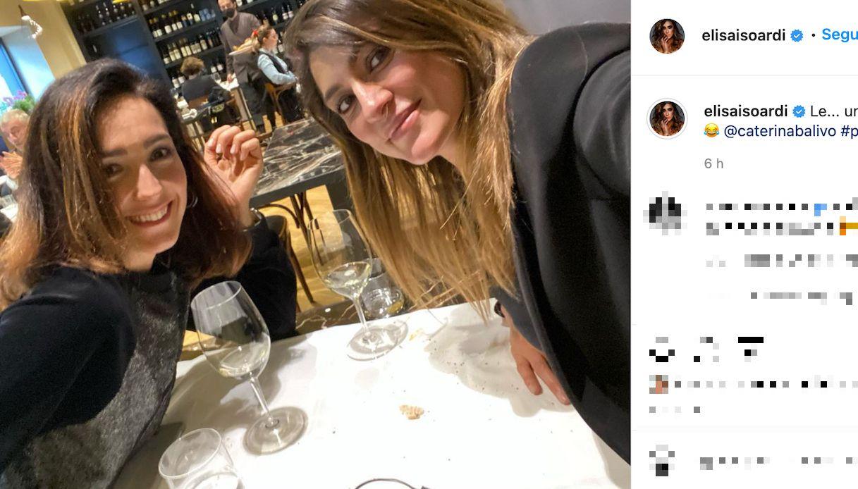 Elisa Isoardi e Caterina Balivo, un'amicizia speciale