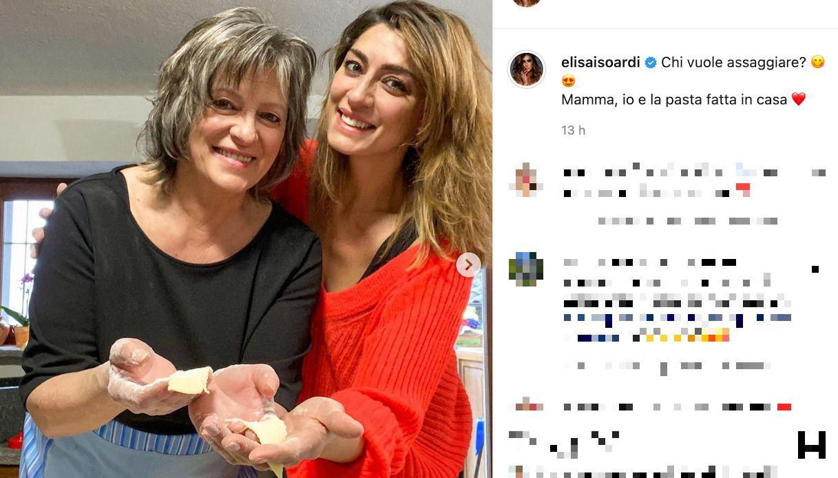 Elisa Isoardi, la somiglianza con la mamma Irma
