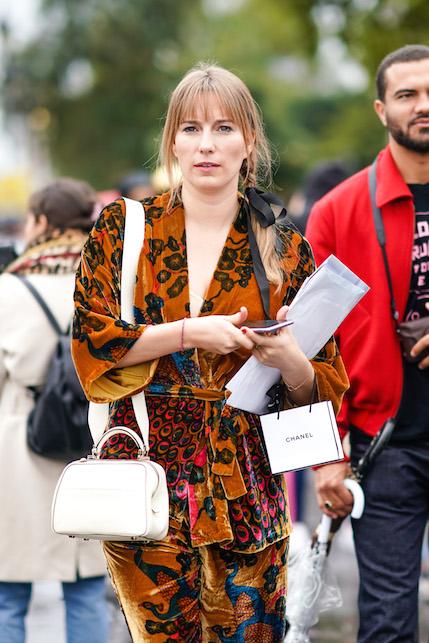 Kimono velluto