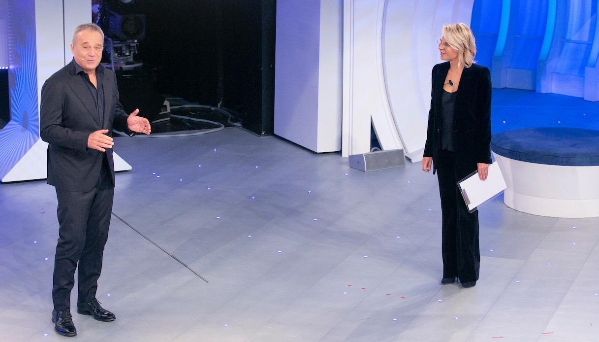 Maria De Filippi e Claudio Amendola a C'è Posta per Te
