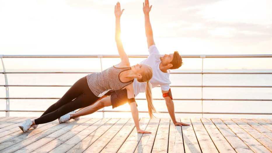 Sport in due: 7 benefici per la coppia