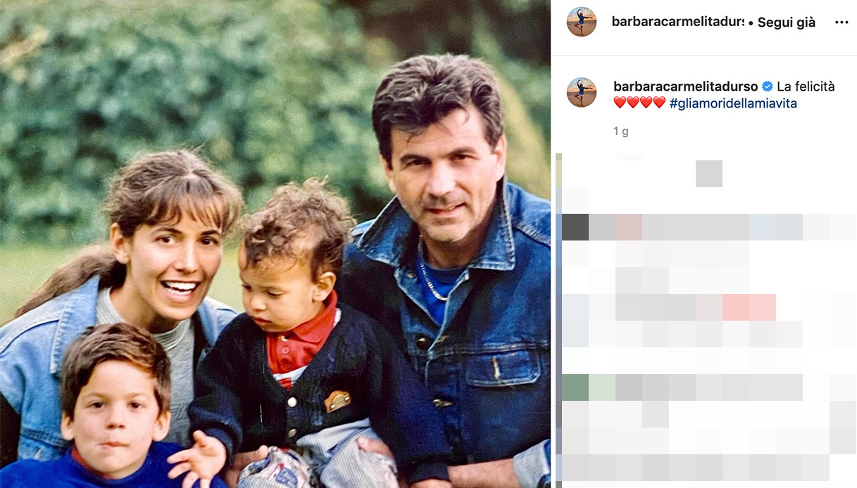 Barbara D'Urso, il post su Instagram