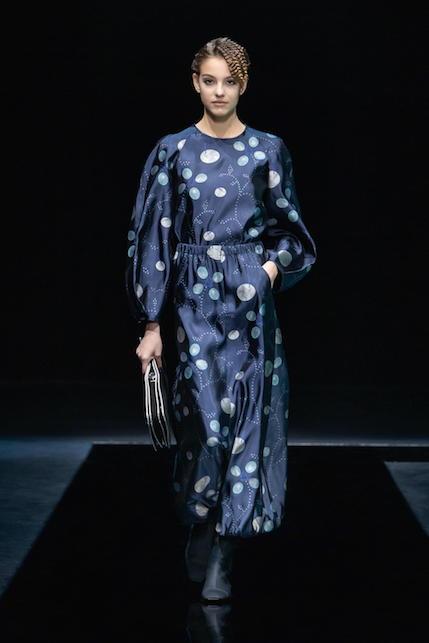 Fashion Week  AI 2021/2022:  Giorgio Armani