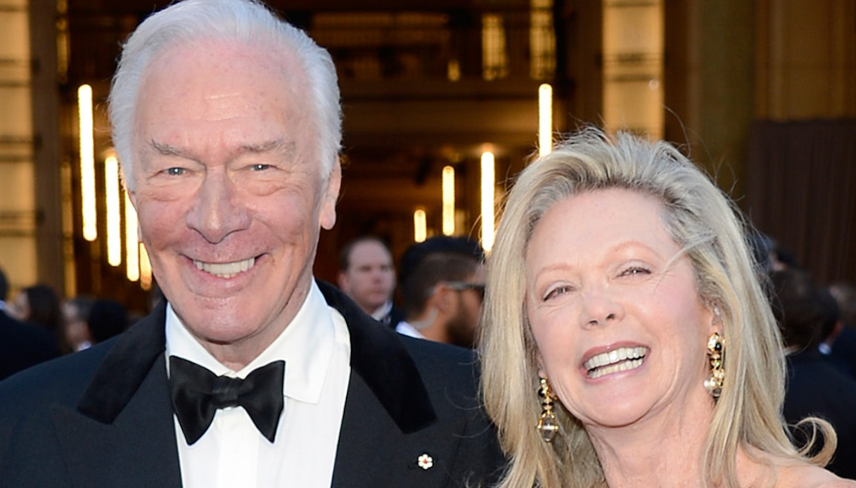 Christopher Plummer e Elaine Taylor