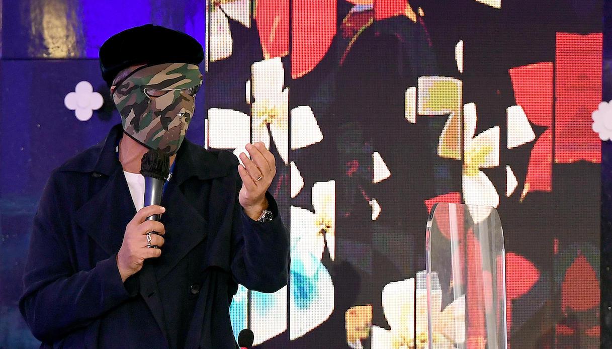 Fiorello alla conferenza stampa di Sanremo 2021