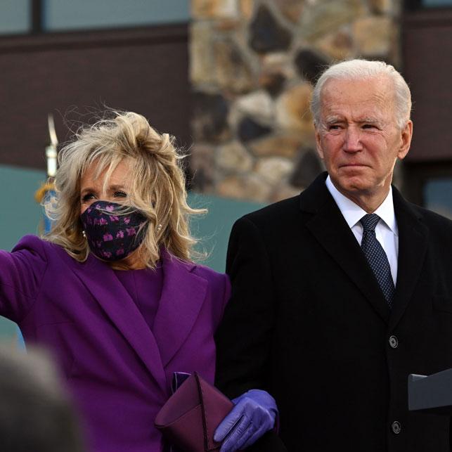 First Lady of the Whitehouse Dr Jill Biden- Lee Pouchet satin