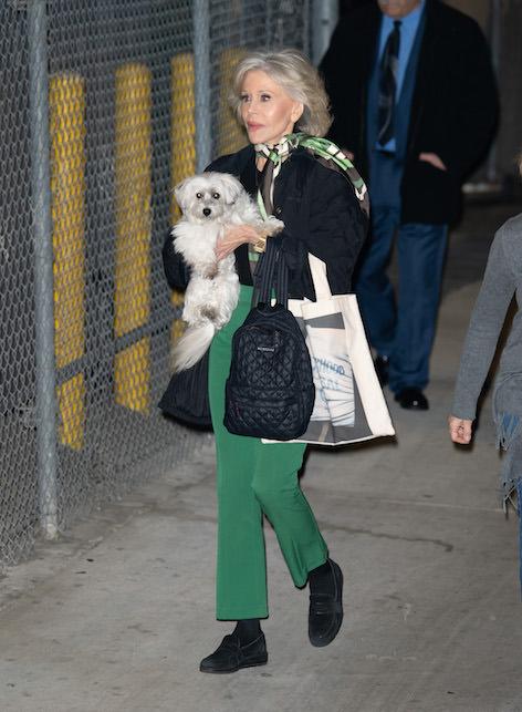 Jane Fonda con il foulard