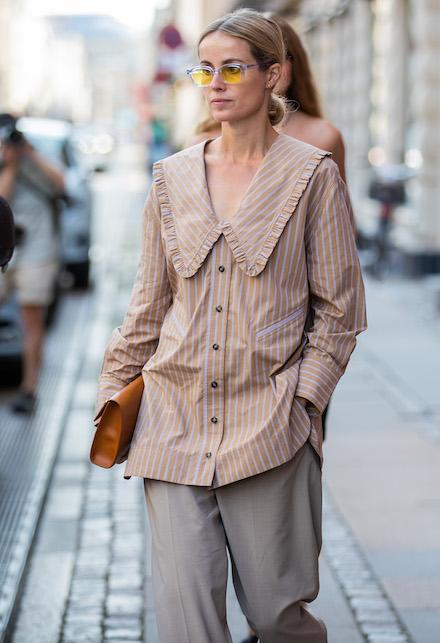 Come indossare i colletti con stile: idee di look