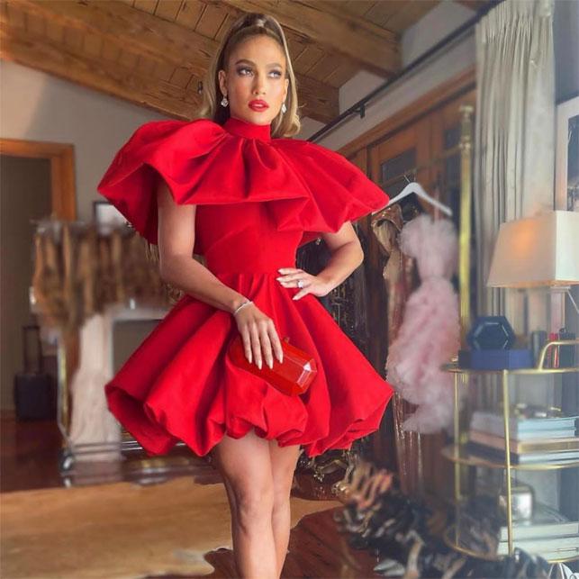 Jennifer Lopez indossa Tyler Ellis