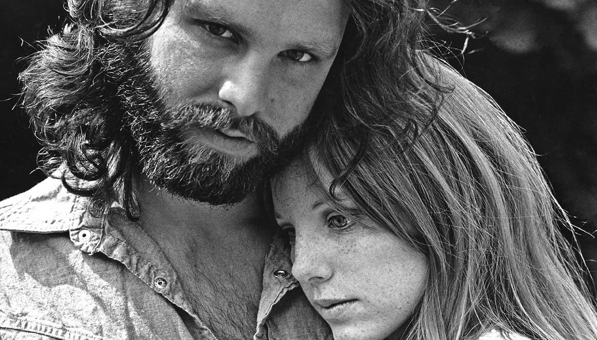 Jim Morrison e Pamela Courson
