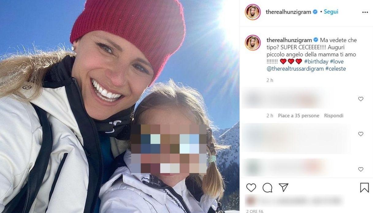 Michelle Hunziker, il post su Instagram
