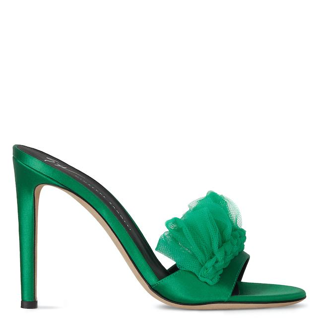 sandalo verde Zanotti