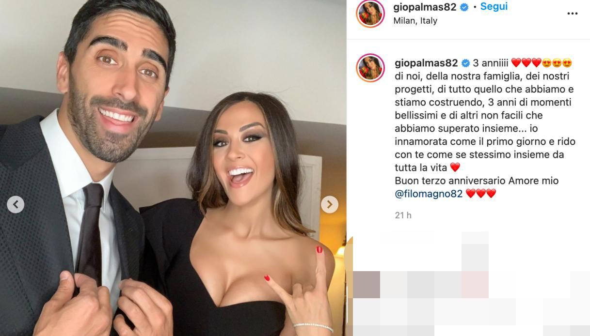 Giorgia Palmas su Instagram