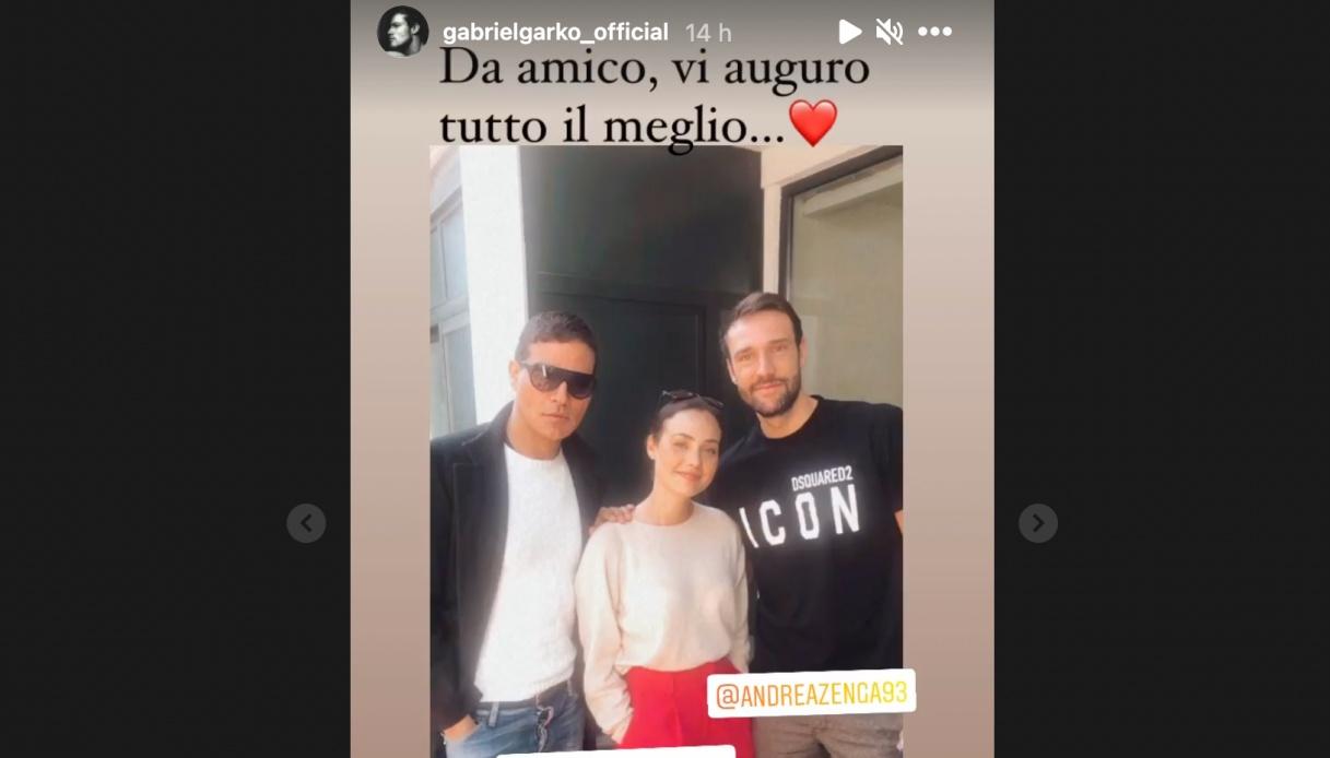 Gabriel Garko su instagram