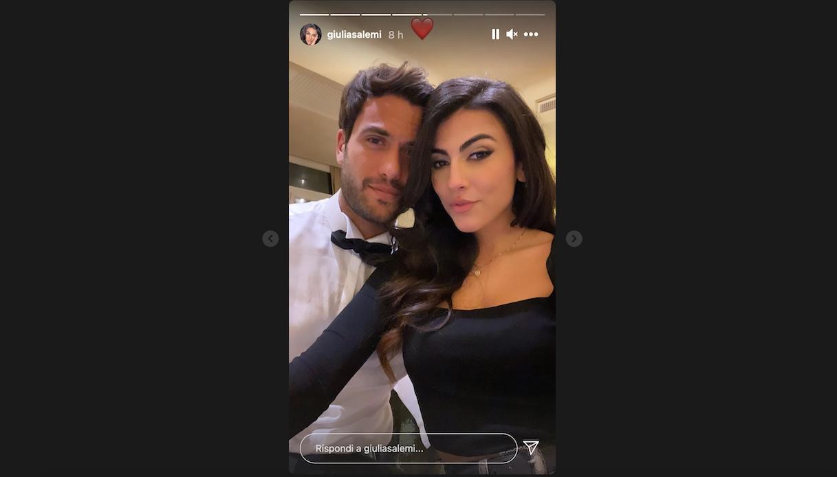 Pierpaolo Pretelli e Giulia Salemi
