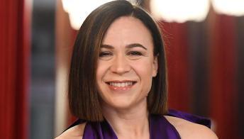 Valeria Graci, la comica che non risparmia Federica Panicucci