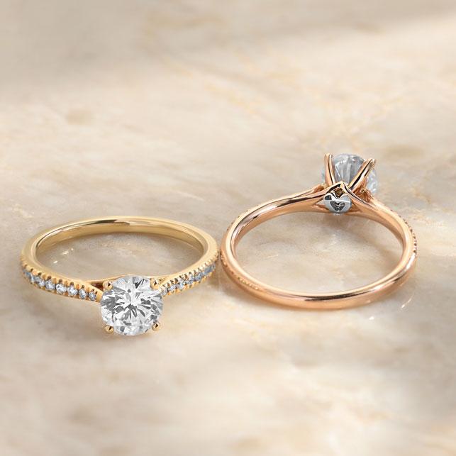 Ecksand - gli anelli di fidanzamento