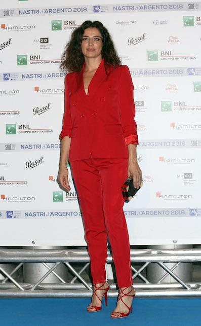 Luisa Ranieri rosso
