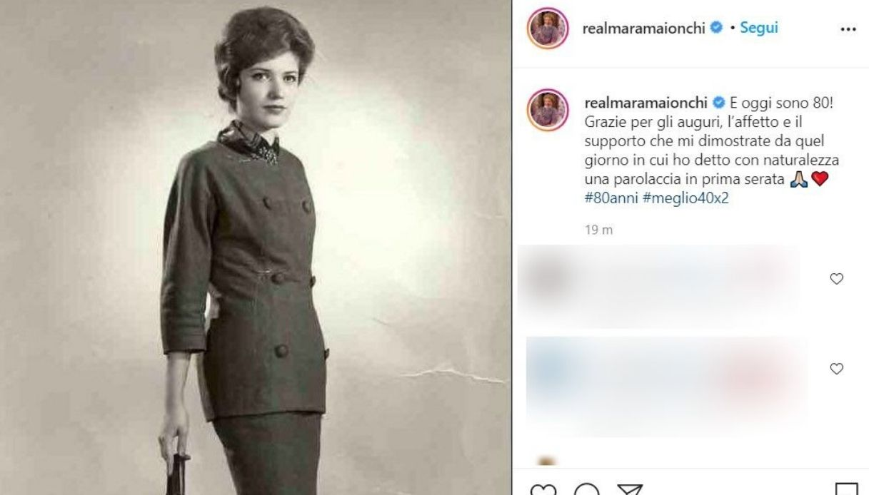 Mara Maionchi Instagram