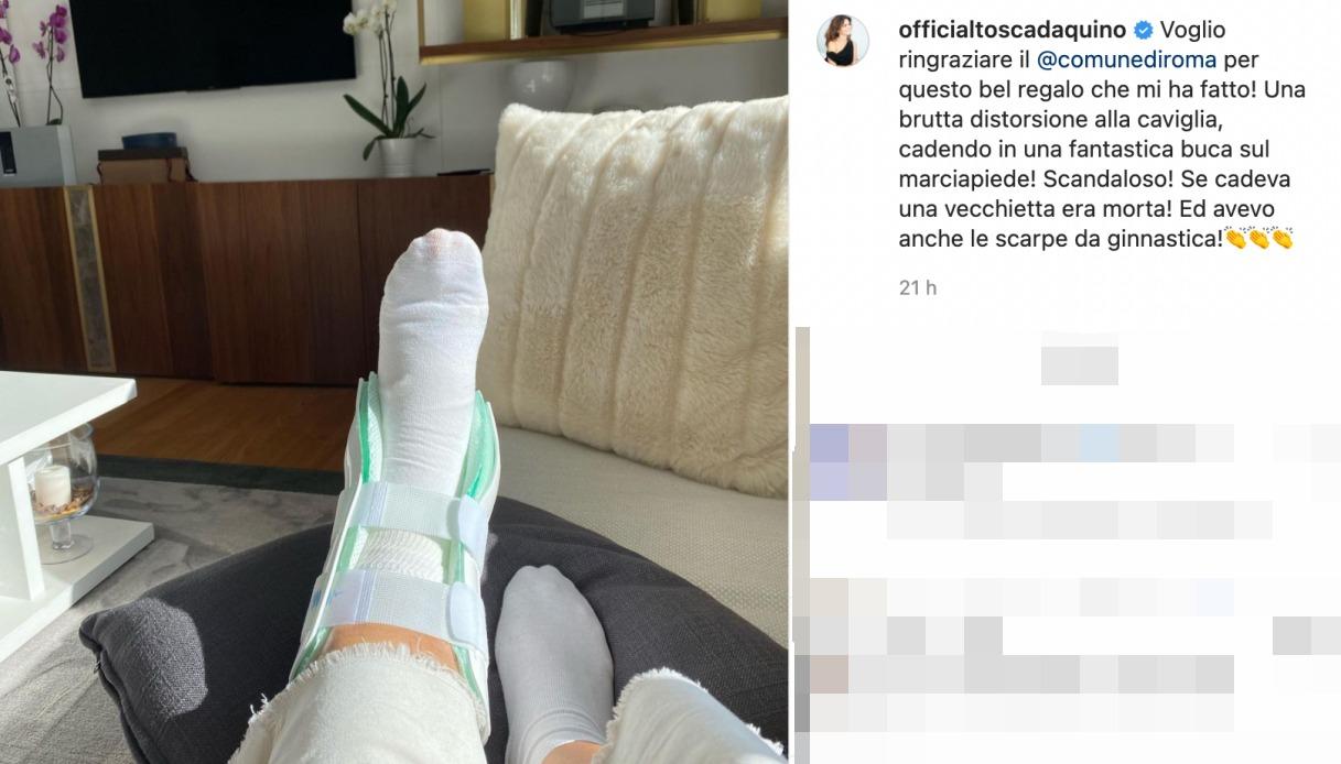 Tosca D'Aquino post