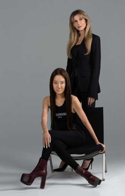 Amandine Ohayon e Vera Wang