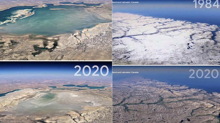 Earth Day, gli effetti devastanti del cambiamento climatico in 30 anni