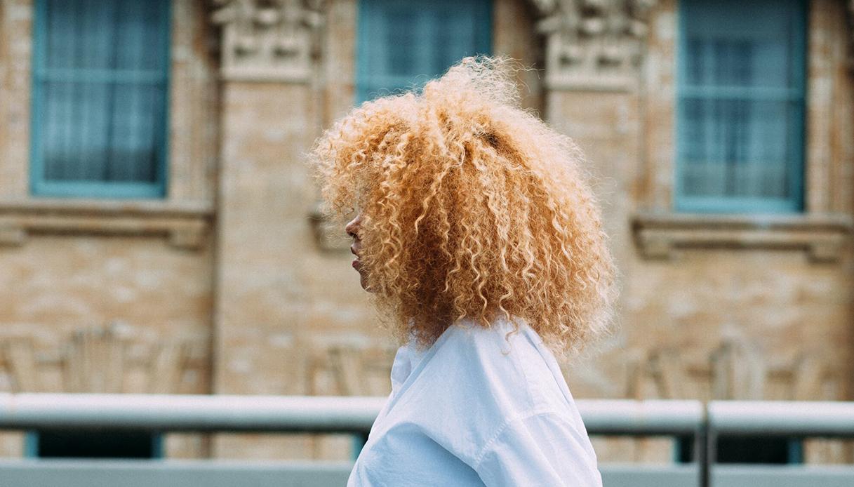 olio di cocco capelli ricci