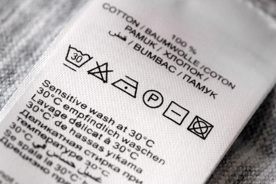 Leggere le etichette dei vestiti: perché è importante