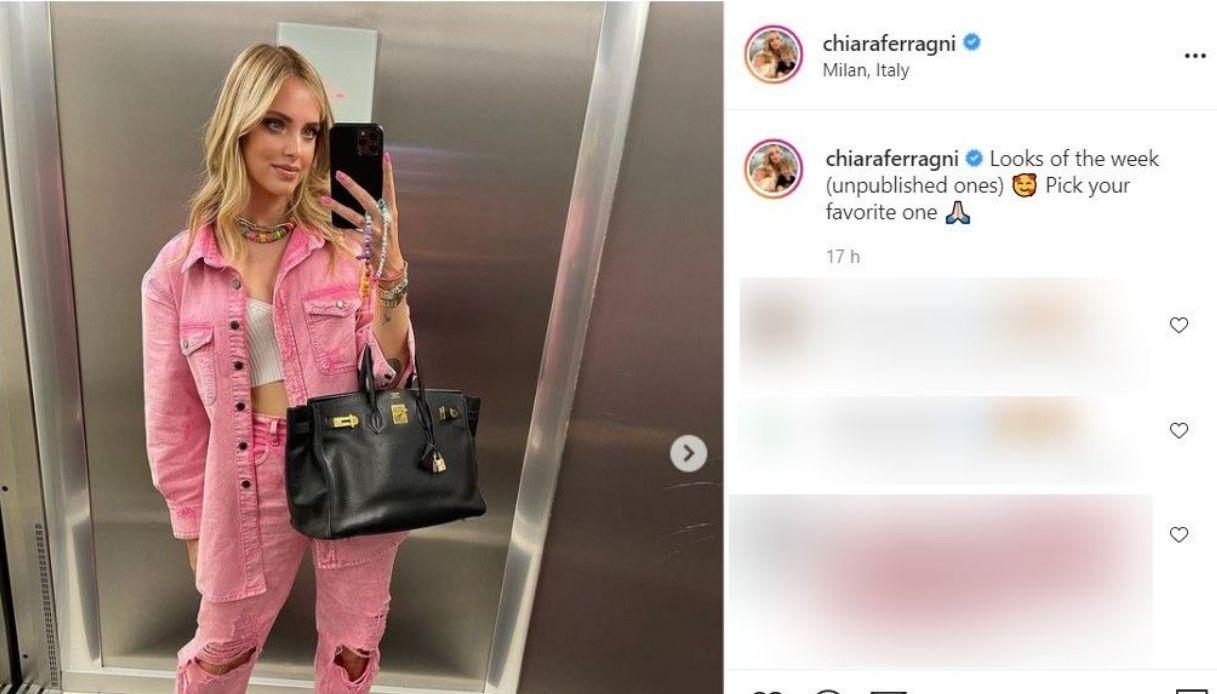 Chiara Ferragni, il post su Instagram