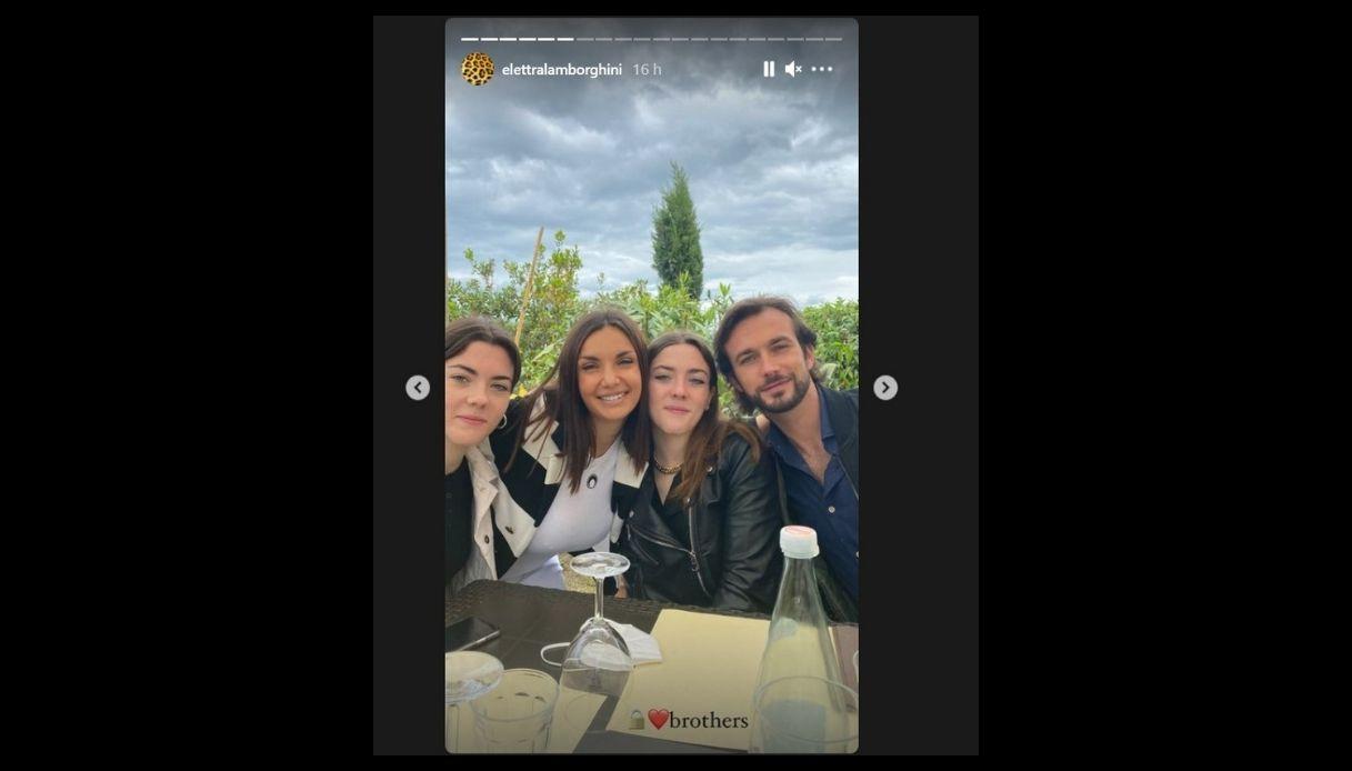 Elettra Lamborghini, una delle Storie su Instagram