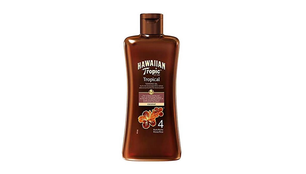 Hawaiian Tropic - Tropical Tanning Oil Spf 4 Rich