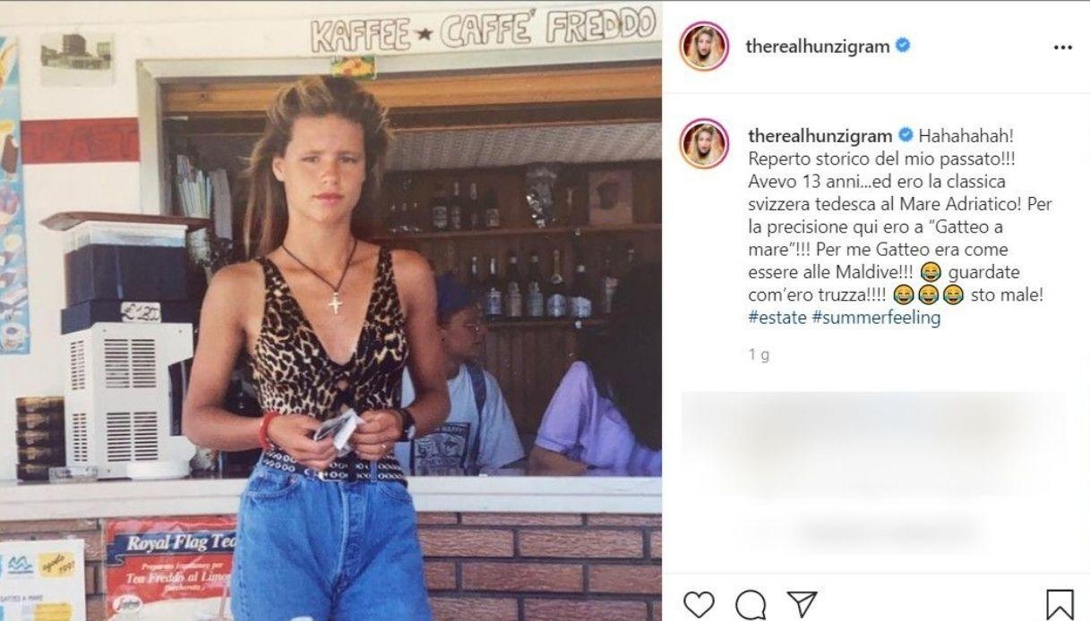 Michelle Hunziker, la foto pubblicata su Instagram