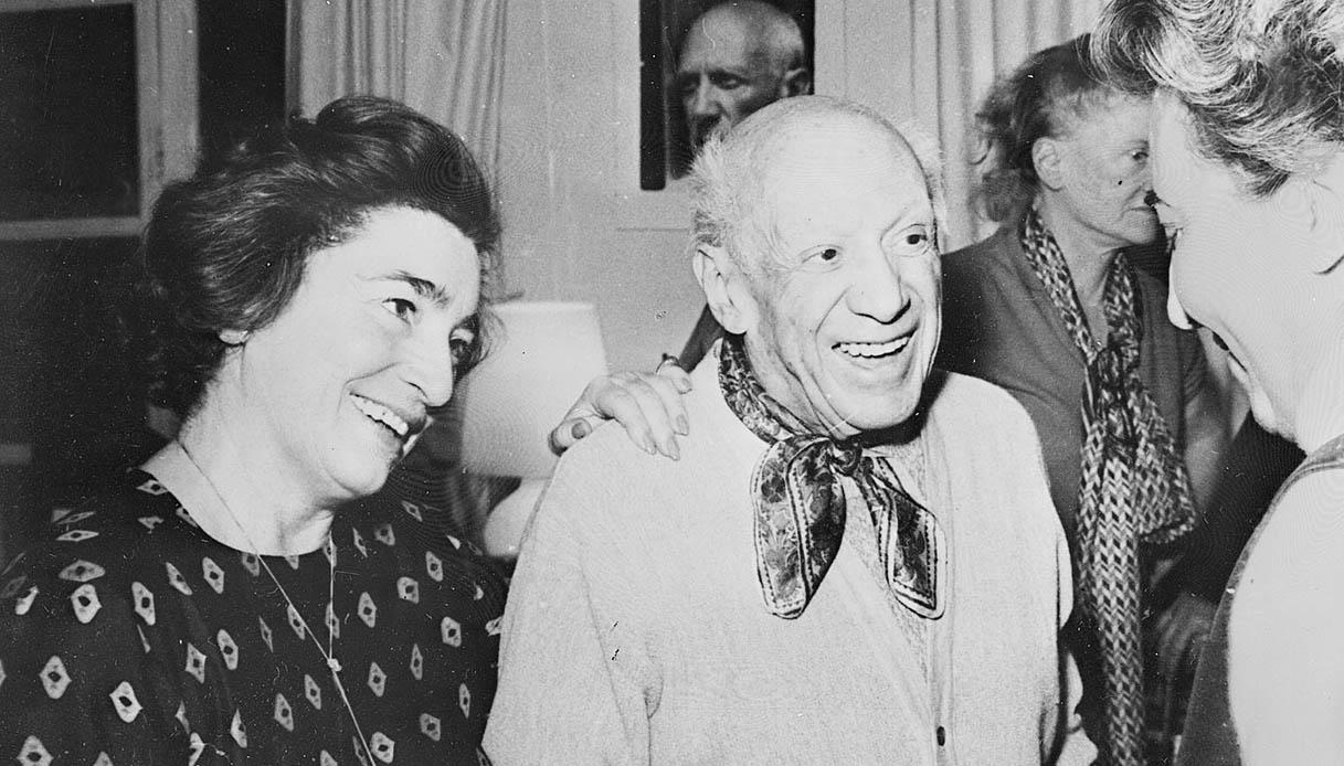Picasso e Jacqueline Rogue