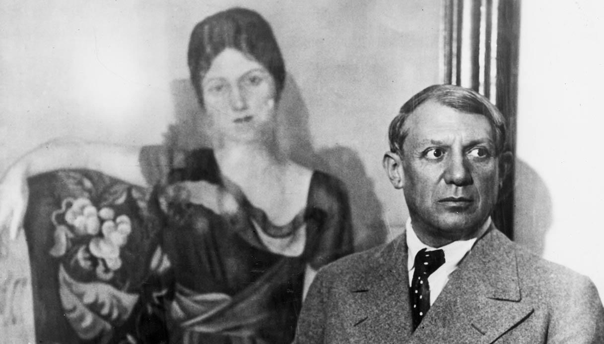 Picasso e Olga Kokhlova
