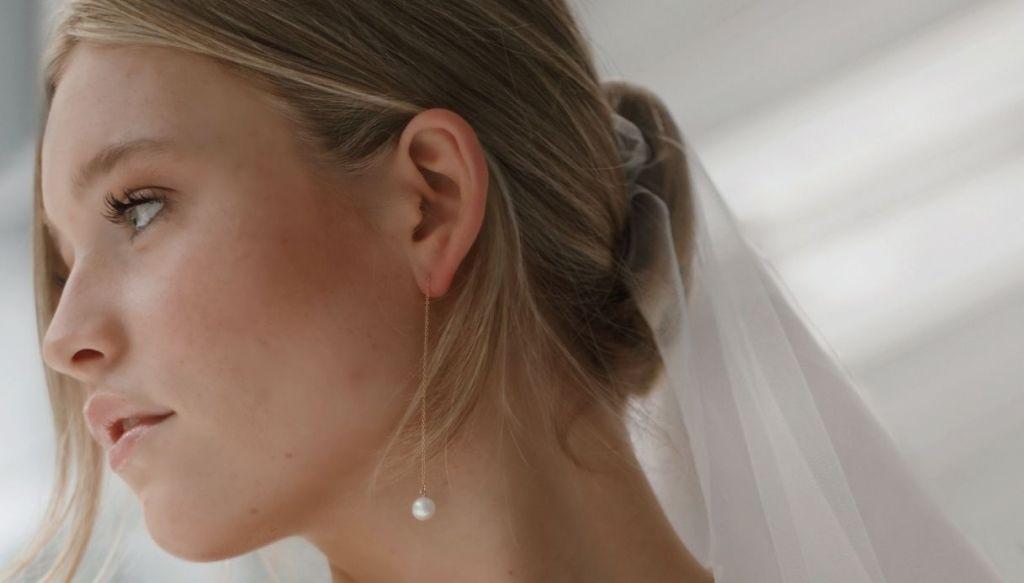 raccolto capelli sposa trucco sposa naturale ragazza bionda occhi chiari