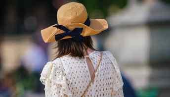 Cappelli di paglia: ispirazioni per l'uso