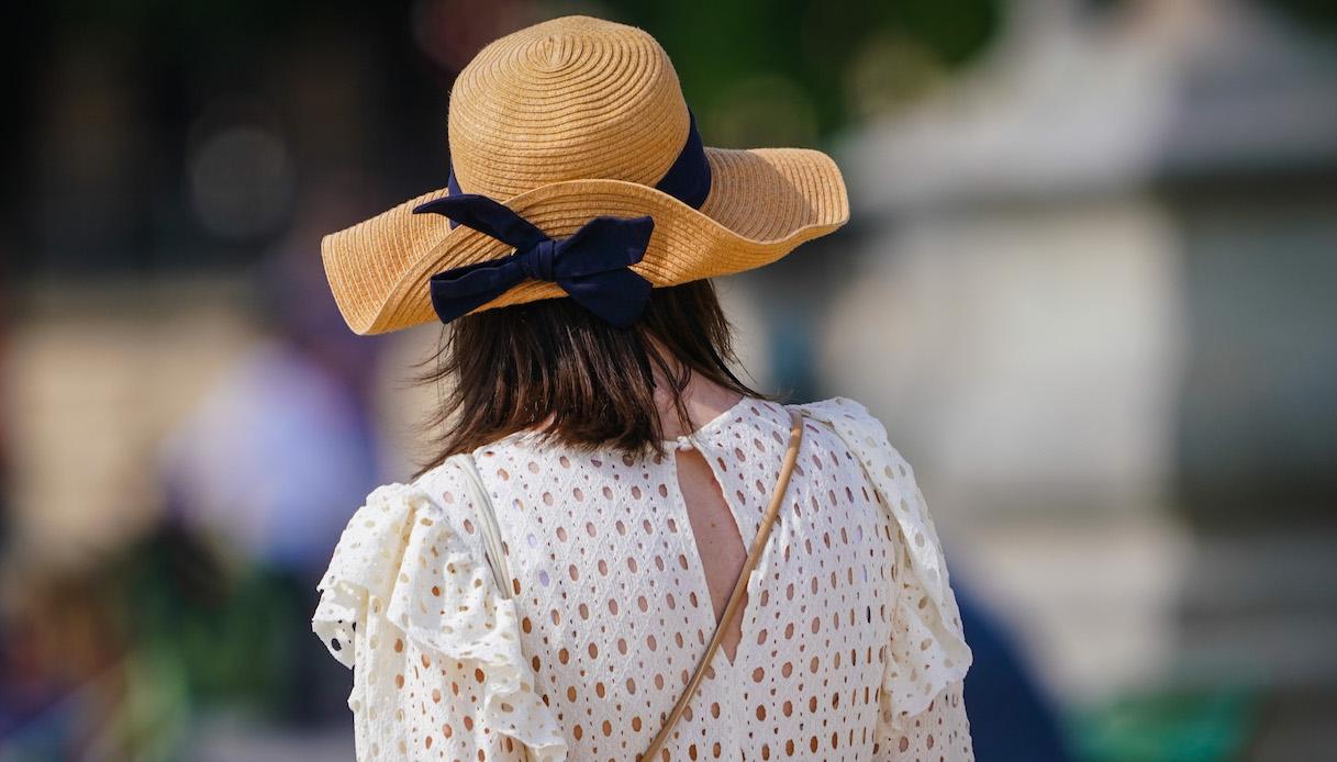 Cappello di paglia: idee di look per portarlo con stile ...