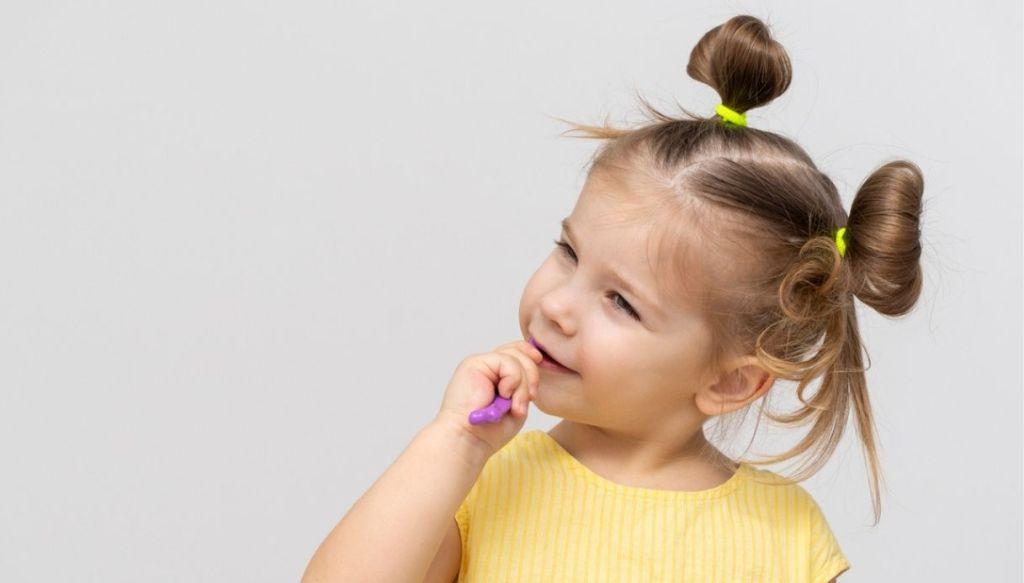 Come lavare i dentini dei bambini