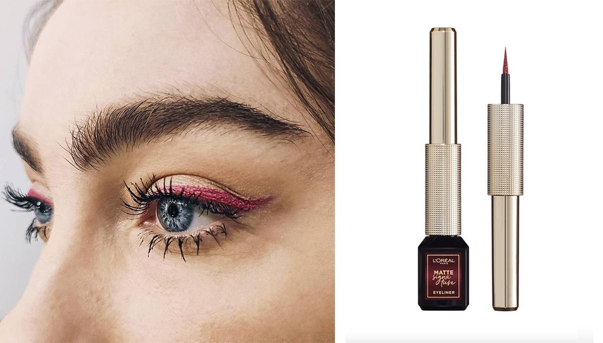eyeliner borgogna eyelook