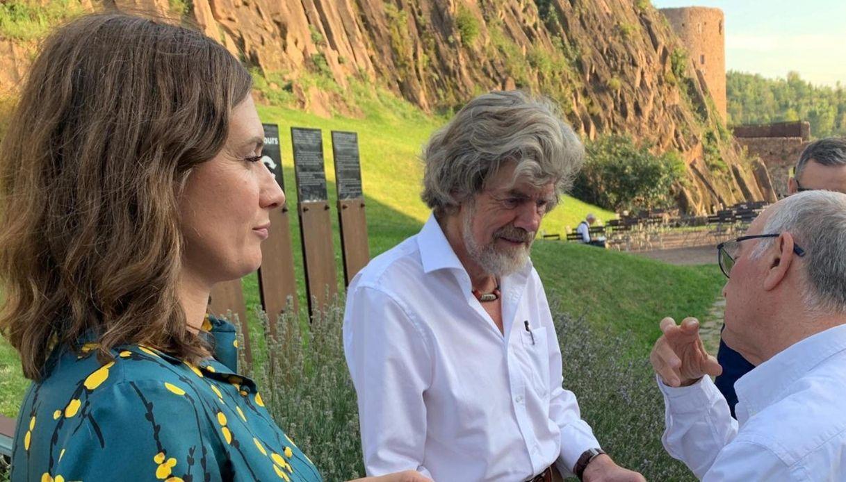 Chi è Diane Schumacher, la futura moglie di Reinhold Messner