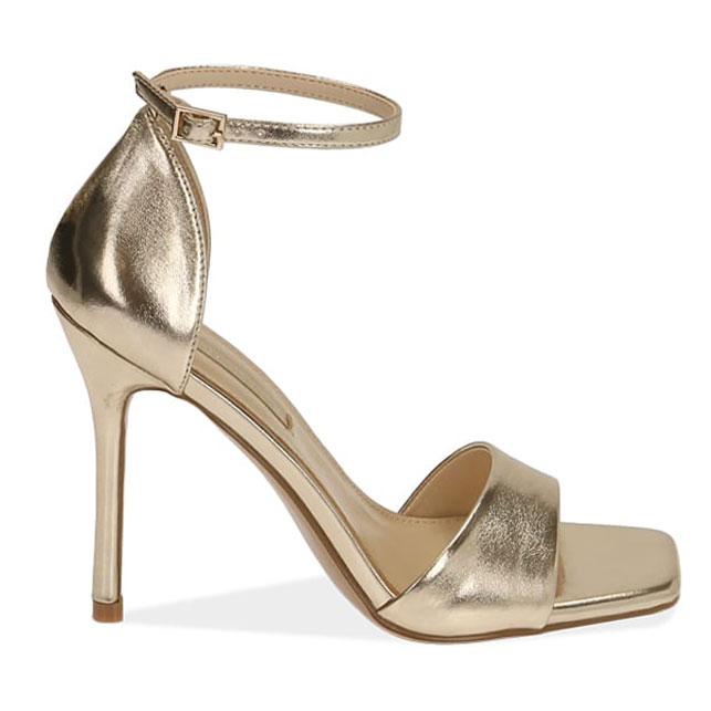 sandalo color oro