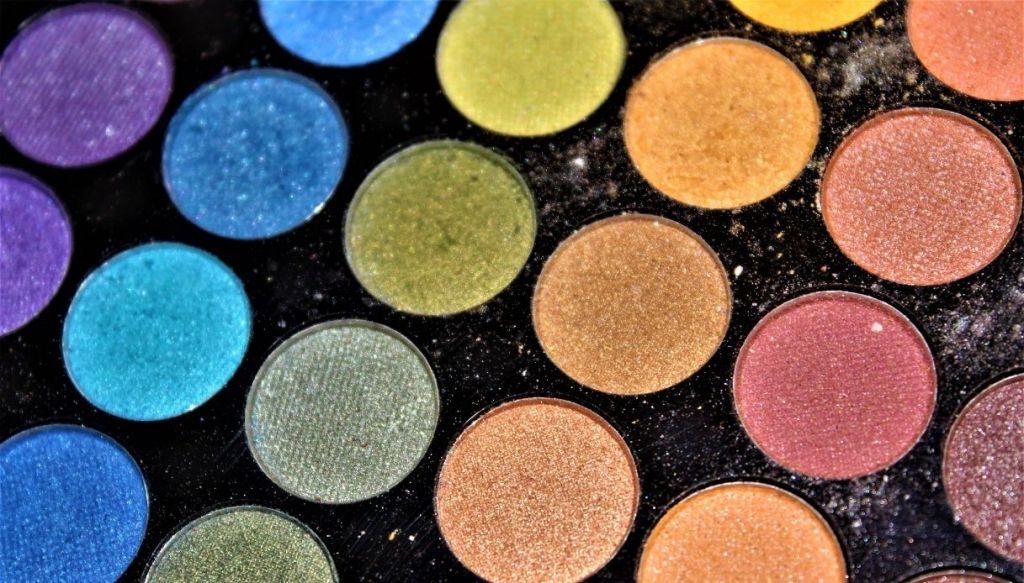 ombretti colorati ombretti arcobaleno makeup