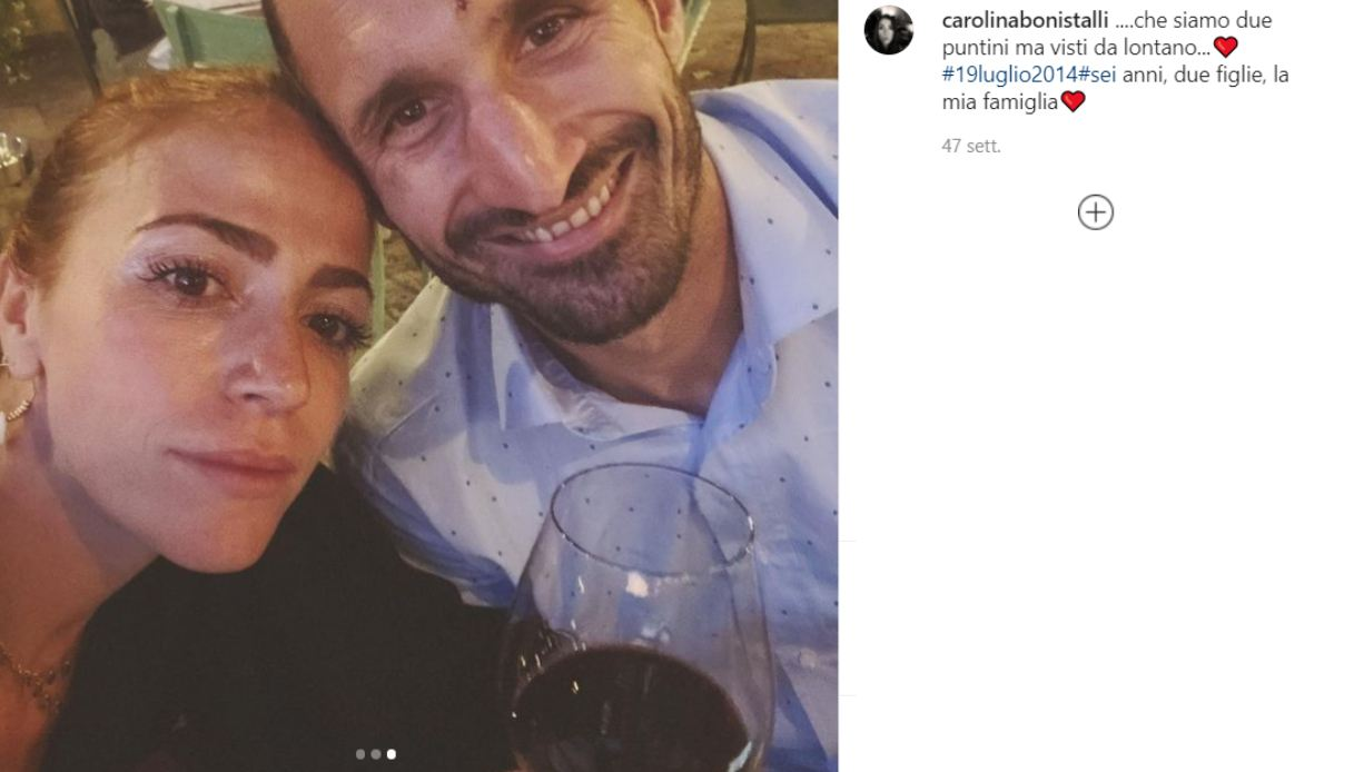 Carolina Bonistalli, chi è la bellissima moglie di Giorgio Chiellini