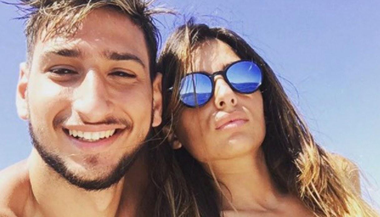 Gigio Donnarumma e Alessia Elefante